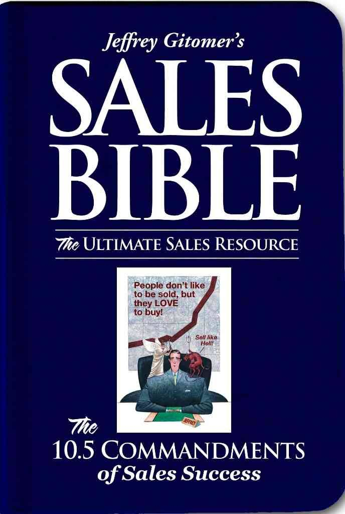 The Sales Bible Jeffrey Gitomer